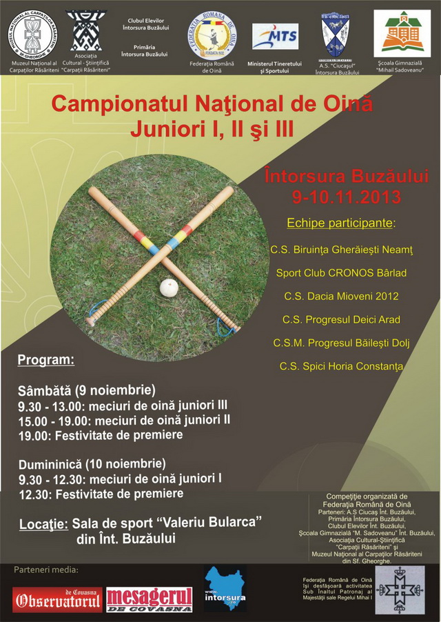 Campionatul National De Oina  Juniori